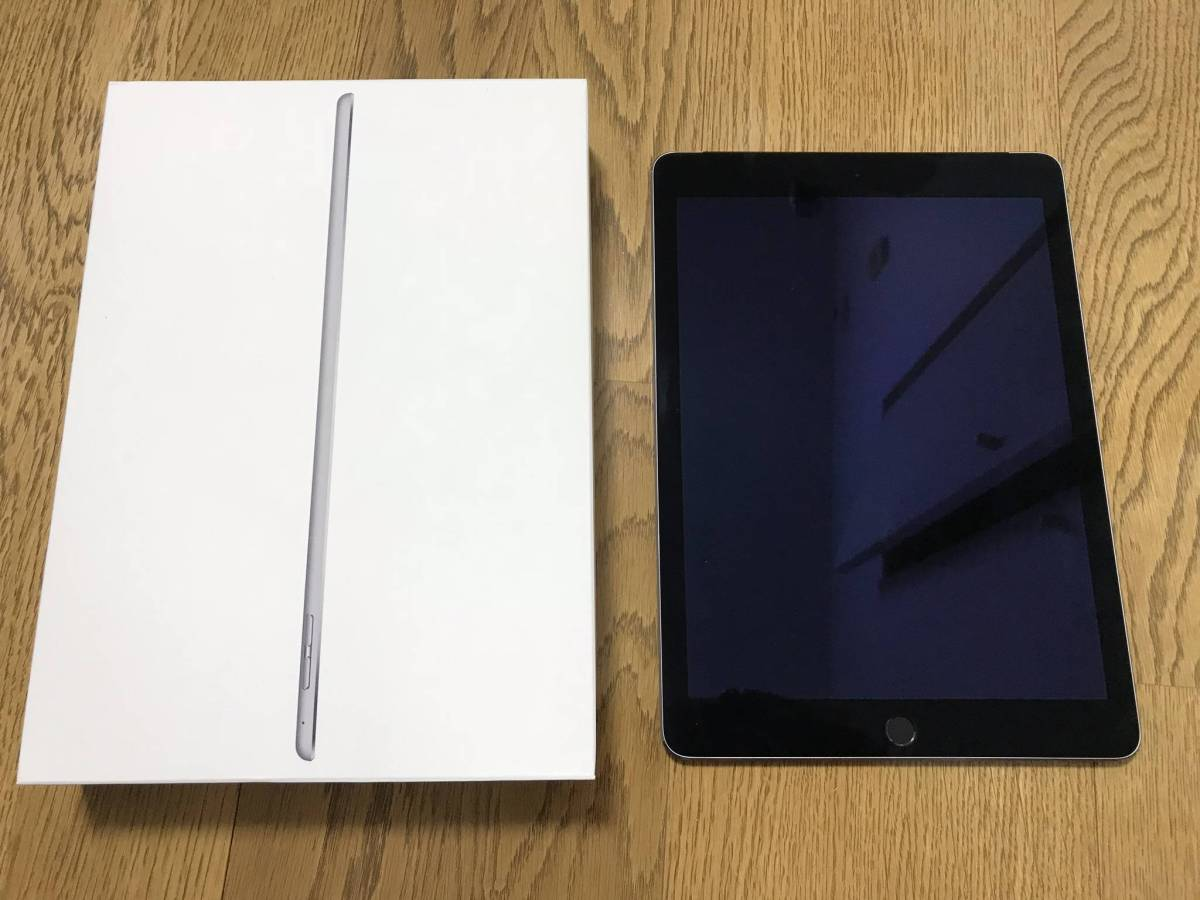 ★Apple iPad Air2 Cellular 128GB スペースグレイ(国内版SIMロックフリー) MGWL2J/A★