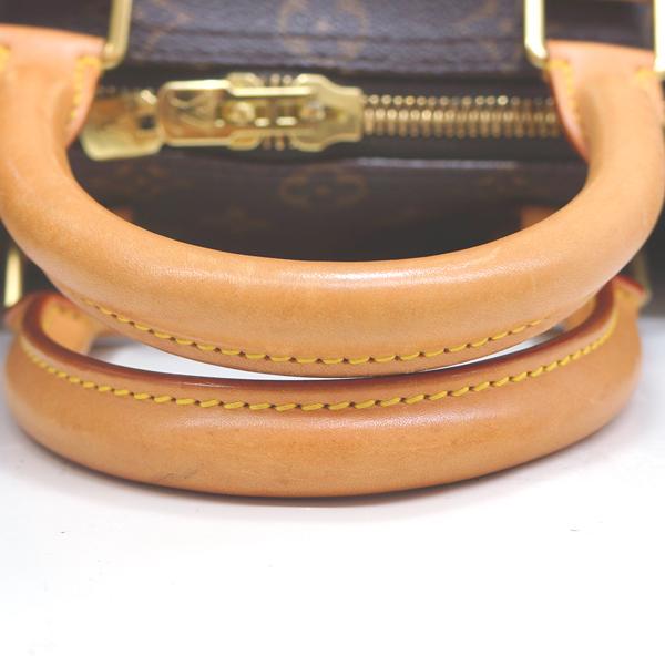 ルイヴィトン ボストンバッグ モノグラム キーポル45 M41428 LOUIS VUITTON ブラウン 旅行バッグ _画像7