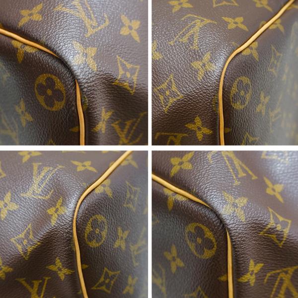 ルイヴィトン ボストンバッグ モノグラム キーポル45 M41428 LOUIS VUITTON ブラウン 旅行バッグ _画像6