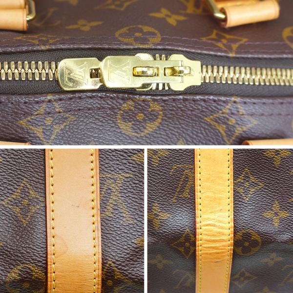 ルイヴィトン ボストンバッグ モノグラム キーポル45 M41428 LOUIS VUITTON ブラウン 旅行バッグ _画像9