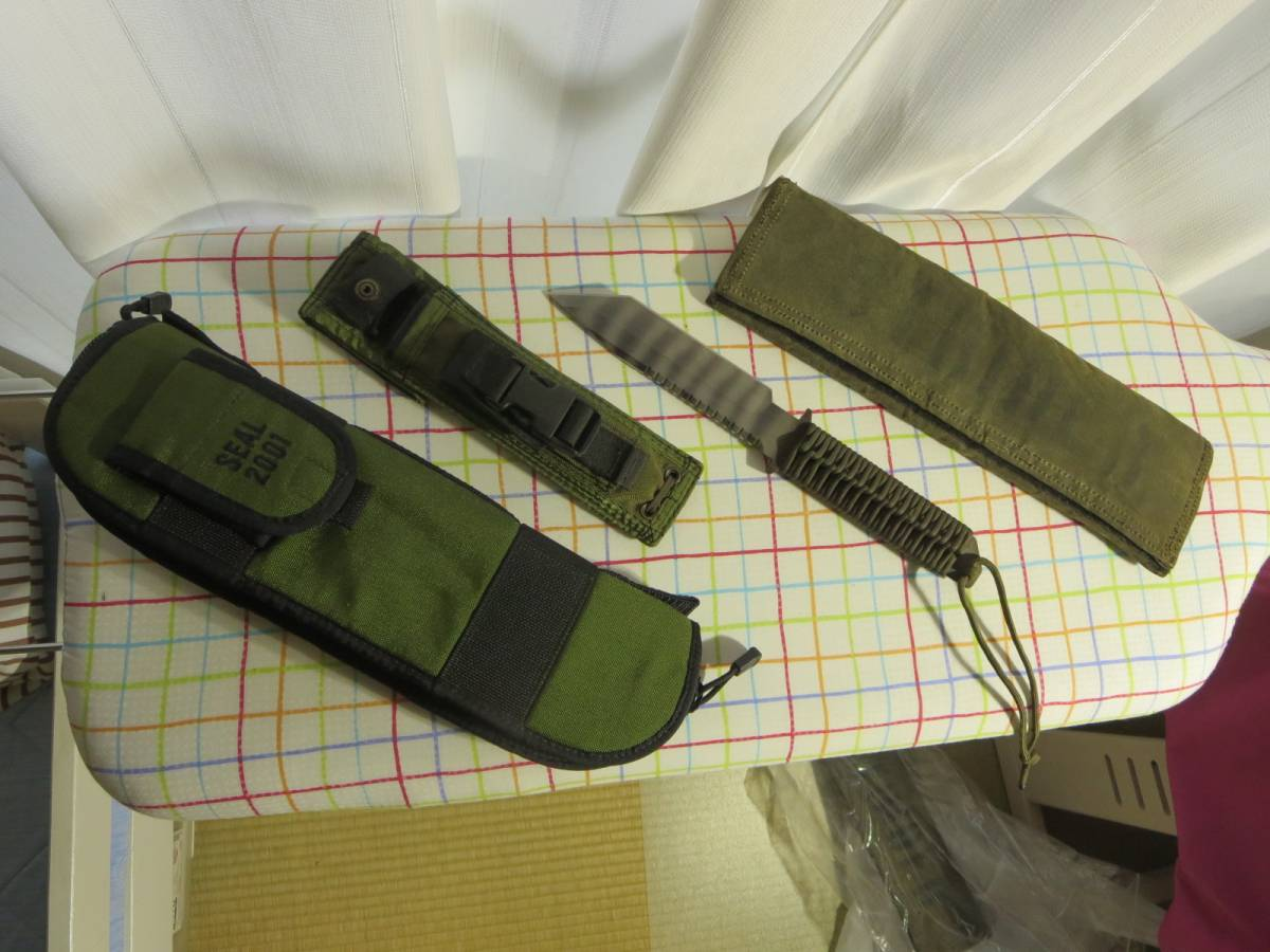 中古 STRIDER SEAL 2001 専用キャリングケース、収容袋付 ストライダーナイフ