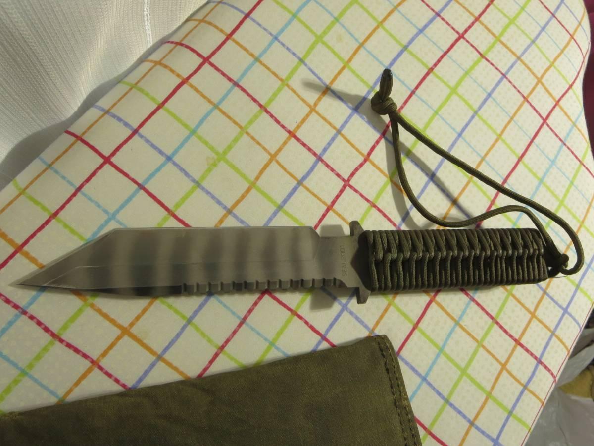 中古 STRIDER SEAL 2001 専用キャリングケース、収容袋付 ストライダーナイフ _画像3