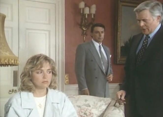 欲情の扉 (恋は運命とともに) TEARS IN THE RAIN (1988) シャロン・ストーン主演 戦火の密会、禁断の兄妹愛、出生の秘密/新品DVD_画像5