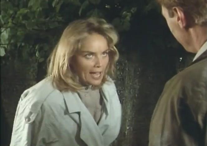欲情の扉 (恋は運命とともに) TEARS IN THE RAIN (1988) シャロン・ストーン主演 戦火の密会、禁断の兄妹愛、出生の秘密/新品DVD_画像4