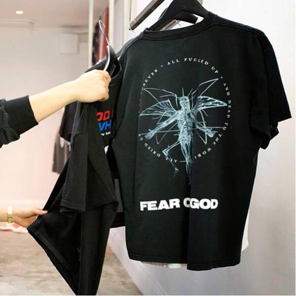 希少 デッドストック Marilyn Manson ビンテージ tシャツ Fear of god vintage マリリンマンソン Jerry Lorenzo Kanye Justin Bieber着