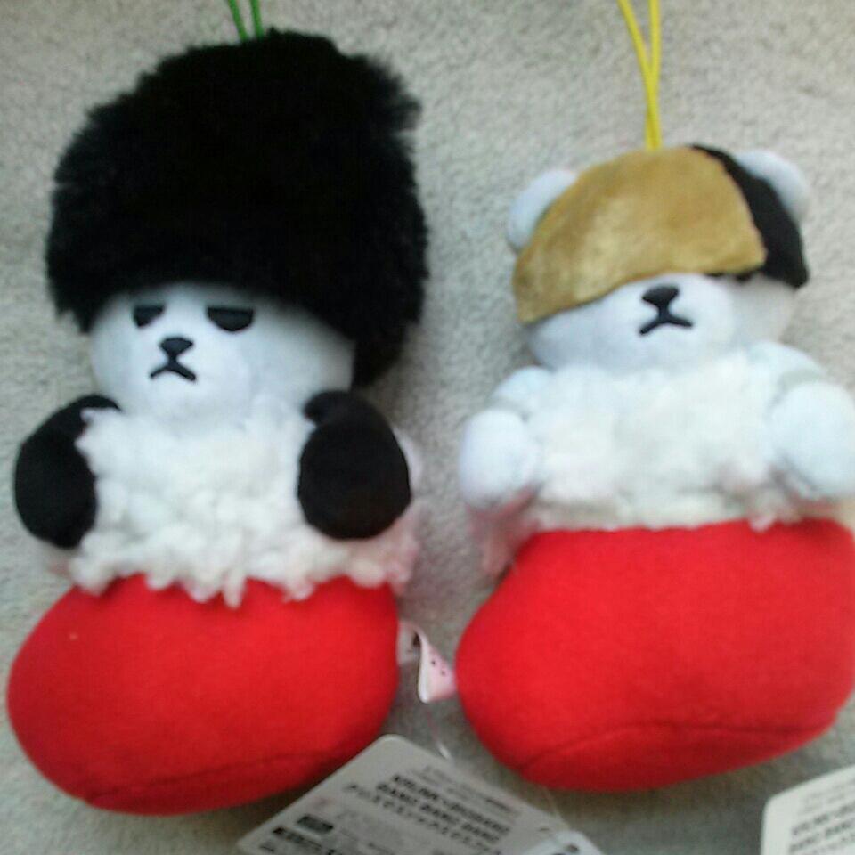 KRUNK × BIGBANG BANG BANG BANG クリスマスソックスマスコット2種