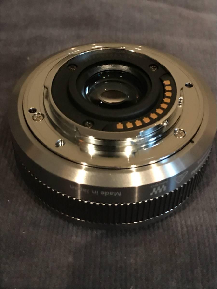Panasonic LUMIX G 20mm/F1.7 II ASPH._画像3