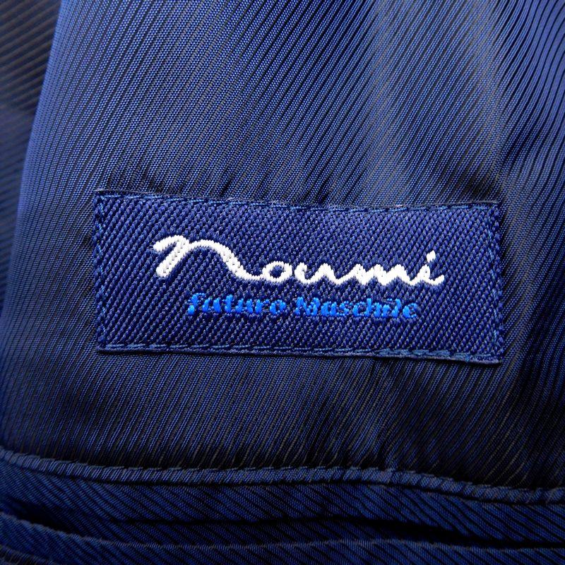 【最高の一着 日本製】新品 NOUMI ノウミ 野海 くるみボタン 千鳥柄 ウール混 ツイードコート 46 / 102644_画像5