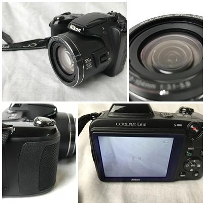 Nikon ニコン COOLPIX L810 BK デジカメ 送料無料_画像2