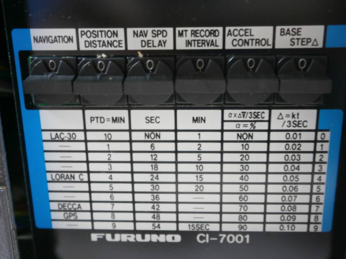 ◆希少◆CI-7000海流演算補助装置◆FURUNO◆_画像8