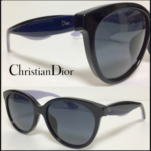 新品 送料無料 Christian Dior クリスチャン ディオール サングラス DiorEnvol 3 LVBHD BK BLUE LLC DIORENVOL3 1本限り_画像1