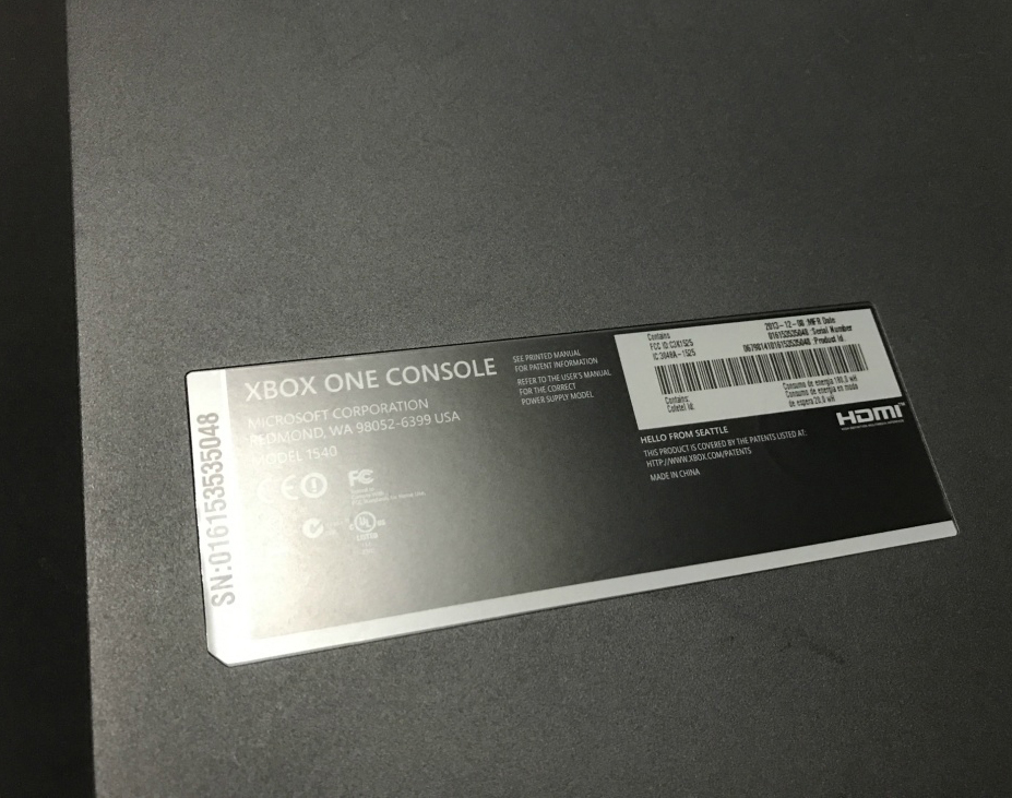 XBOX ONE 500GB 本体 初期モデル  キネクト付き_画像3