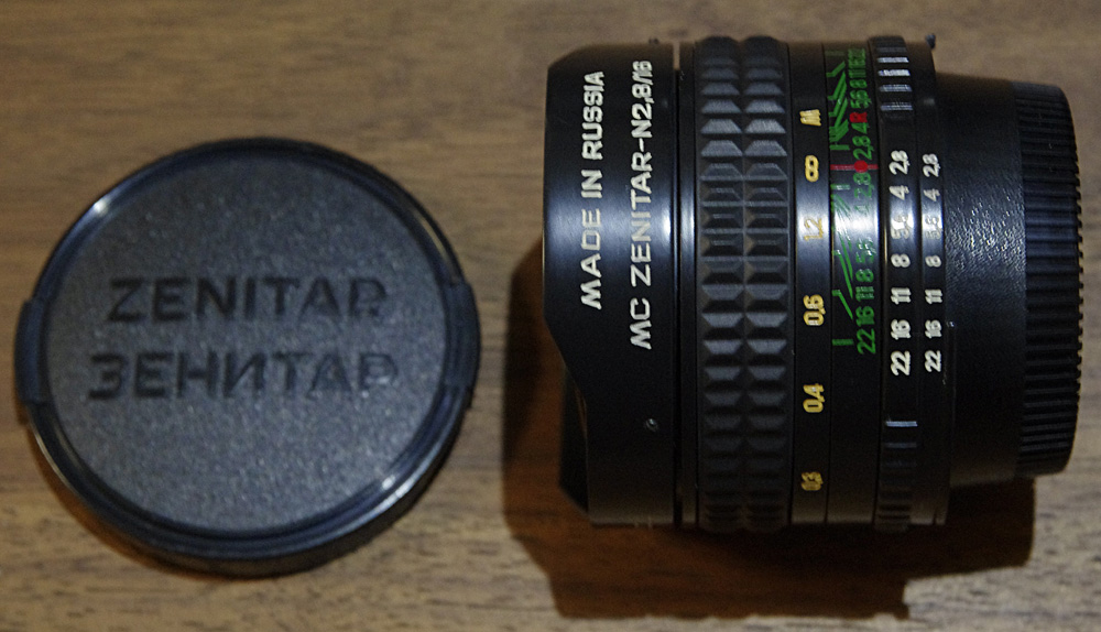 ZENITAR-N F2.8 16mm 魚眼レンズ NIKONマウント 並品
