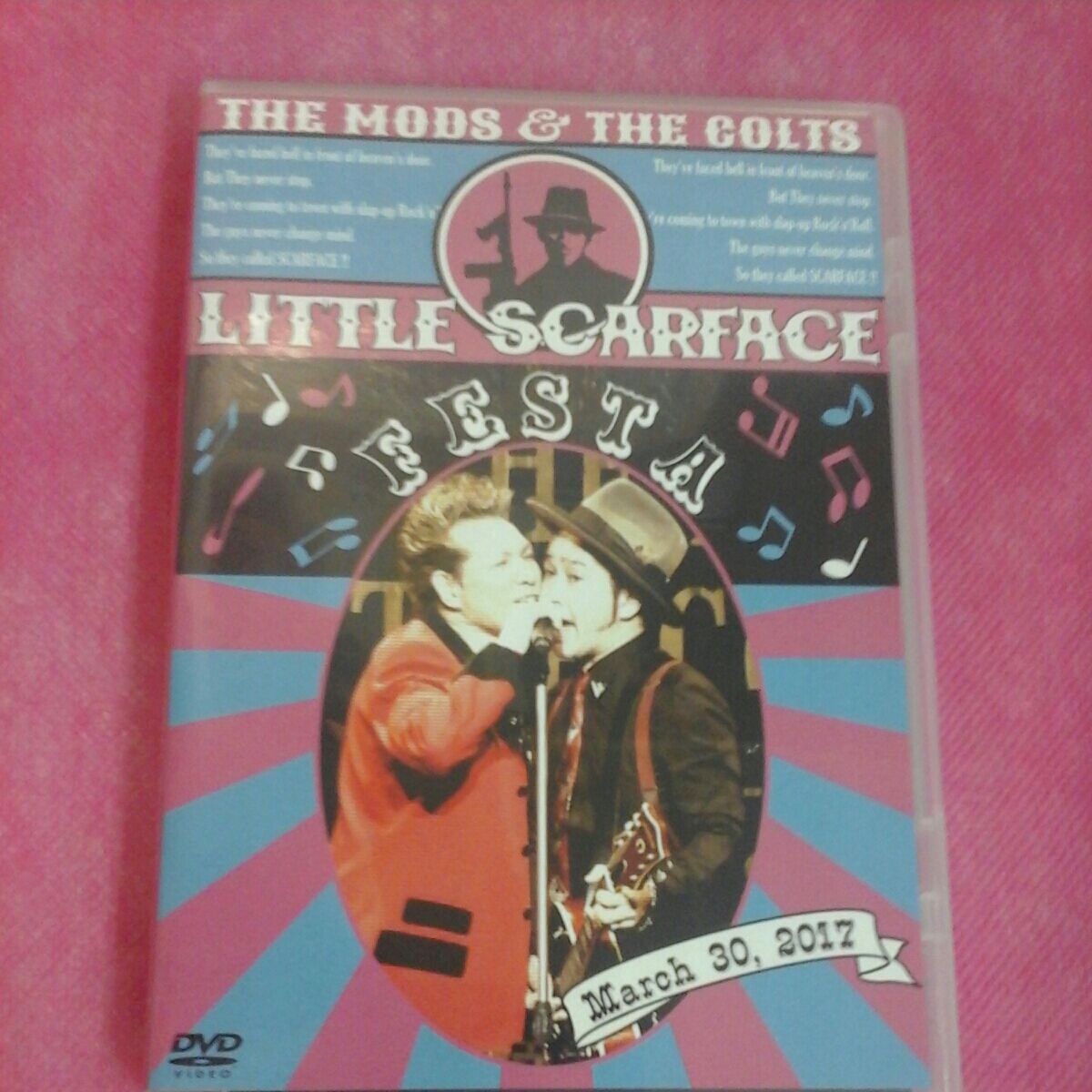 DVD THE MODS & THE COLTS LITTLE SCARFACE FESTA