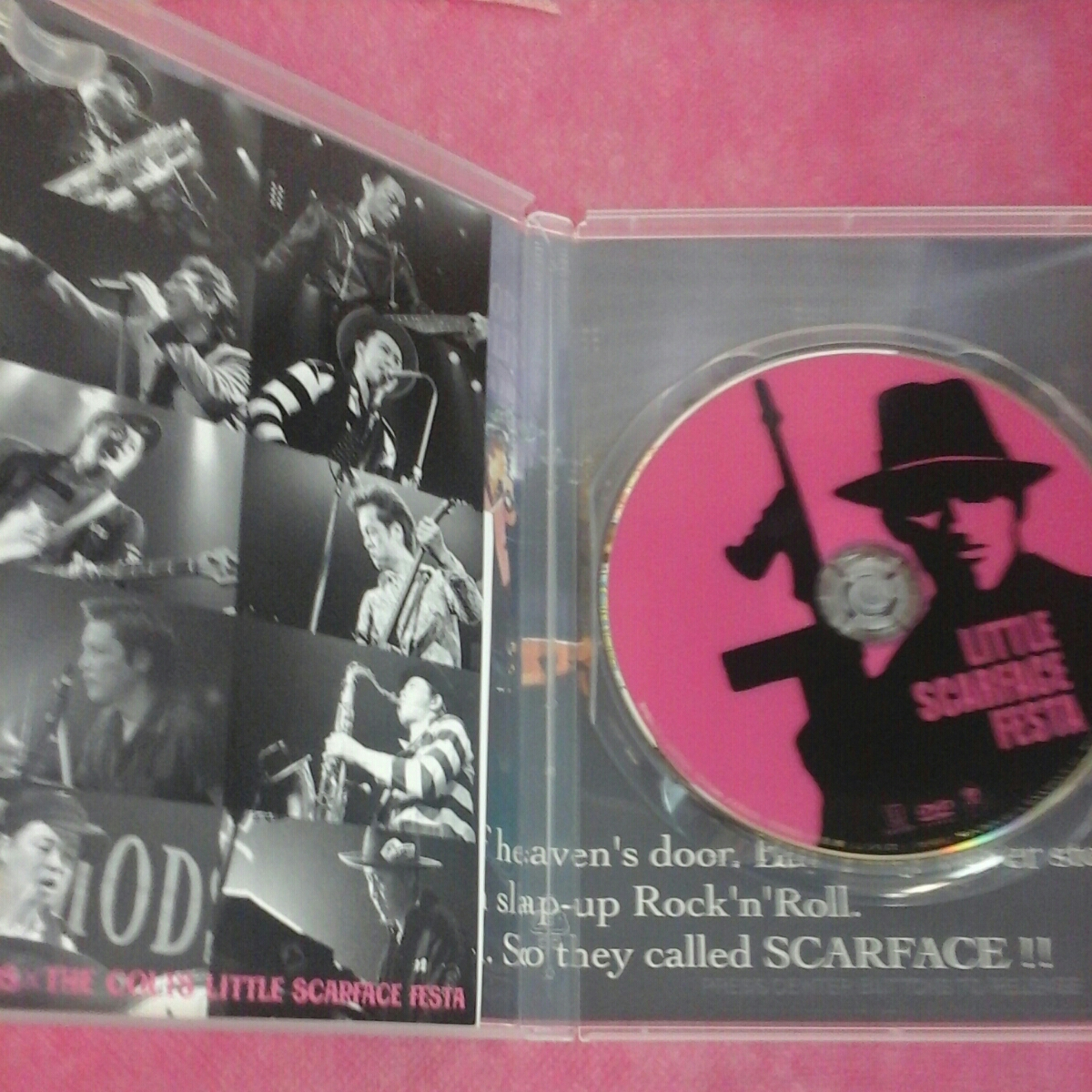 DVD THE MODS & THE COLTS LITTLE SCARFACE FESTA_画像2