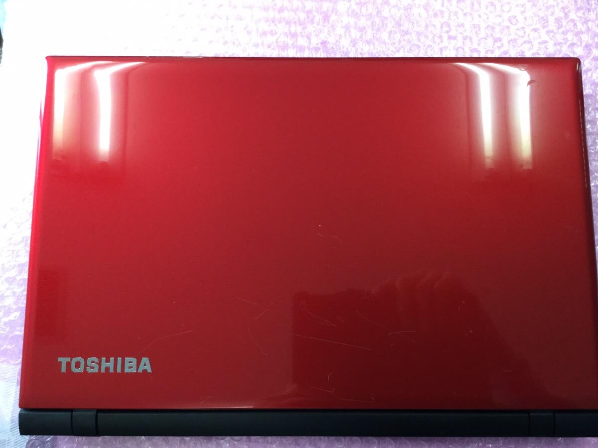 【ジャンク品】ノートパソコン 東芝 dynabook BX/57RR PTX5RRP-SHA HDDなし メモリなし 1円スタート【1005⑥】_画像2