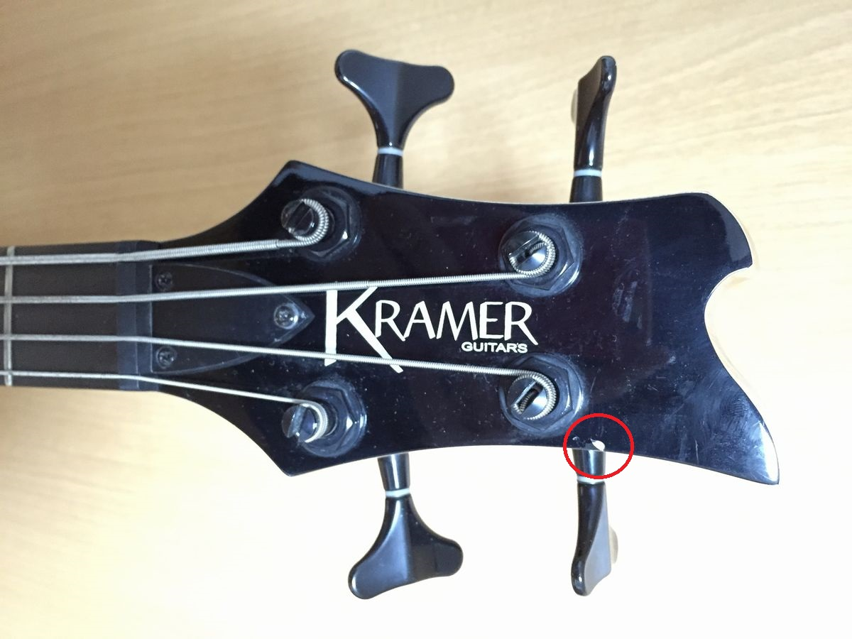 KRAMER クレイマー D-1 Disciple Electric Bass_画像3