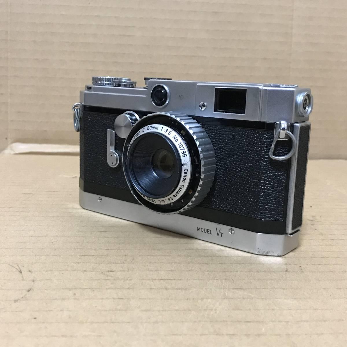 キャノン Canon VT レンジファインダー フィルム カメラ レンズ セット Range Finder Film Camera Lens