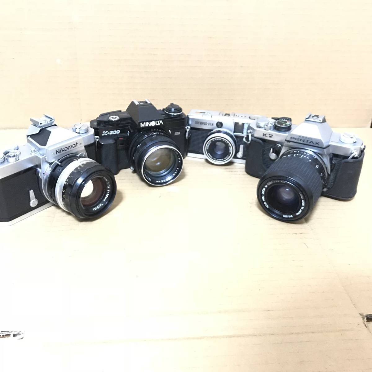 ニコン Nikon 50mm 1:1.4 オリンパス OLYMPUS PEN EED ミノルタ MINOLTA X-600 58mm 1:1.4 ペンタックス PENTAX 他 カメラ レンズ 色々