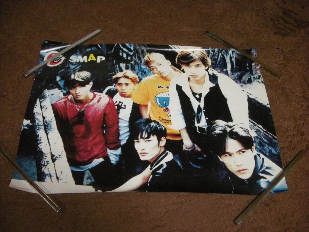当時物 SMAP ポスター 約36×53 コンサートグッズの画像