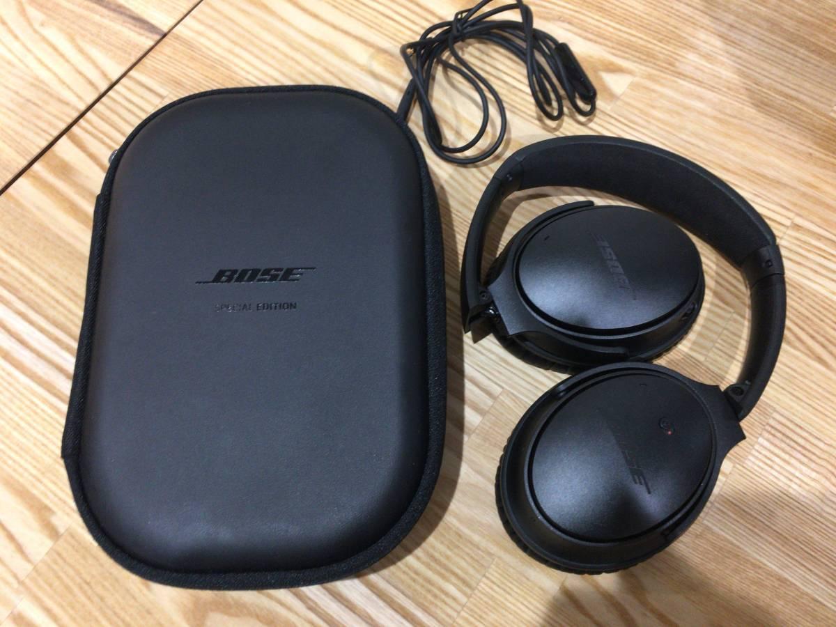 Bose QuietComfort 25 ノイズキャンセリングヘッドホン Apple製品対応モデル Special Edition トリプルブラック_画像2