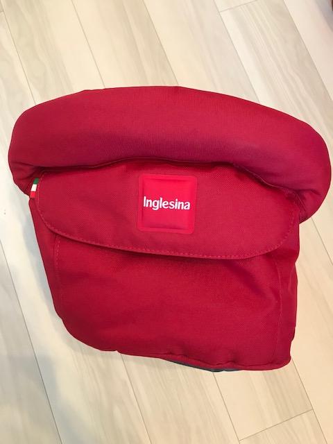 【美品 未使用】 イングリッシーナ ファスト テーブルチェア 赤 red_画像2
