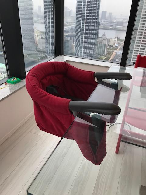 【美品 未使用】 イングリッシーナ ファスト テーブルチェア 赤 red