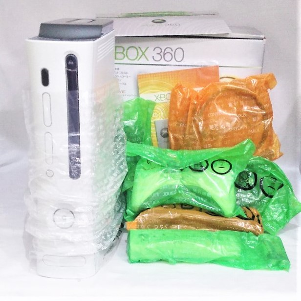☆1円~新品未使用 Microsoft Xbox360 発売記念パック LIVEヘッドセット同梱_画像2