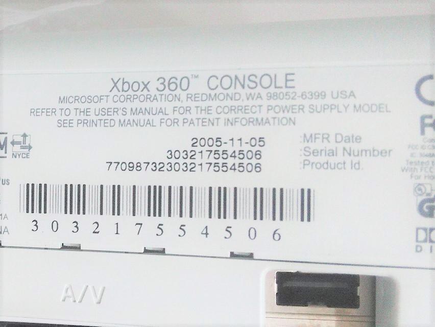 ☆1円~新品未使用 Microsoft Xbox360 発売記念パック LIVEヘッドセット同梱_画像3