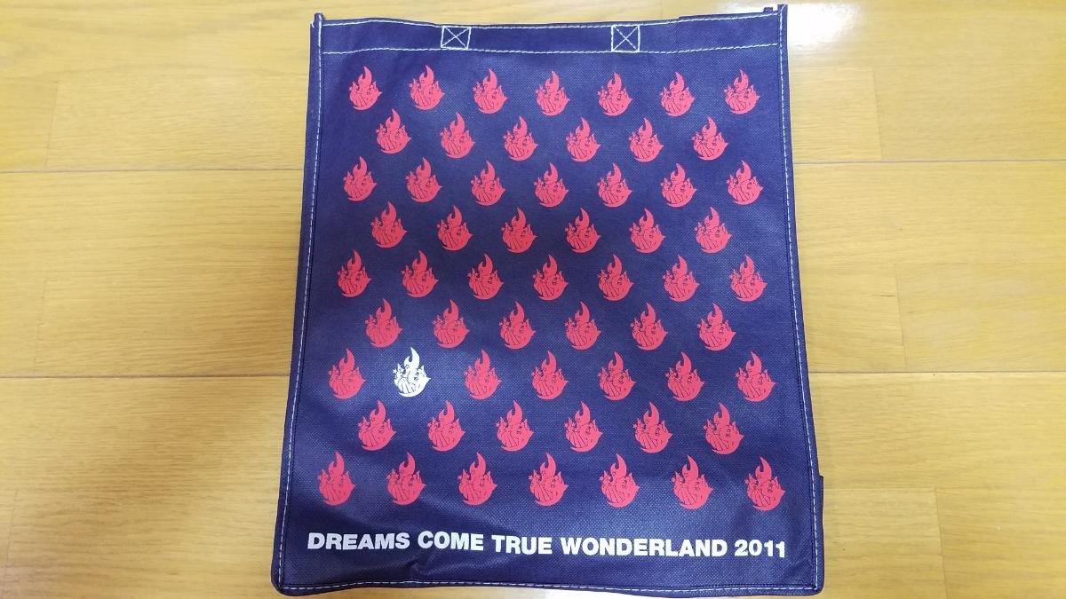 DREAMS COME TRUE WONDERLAND 2011 エコバッグ 新品未使用品