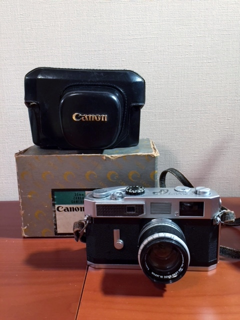 元箱付 キヤノン Canon7 MODEL & Canon LENS 50mm F1.8