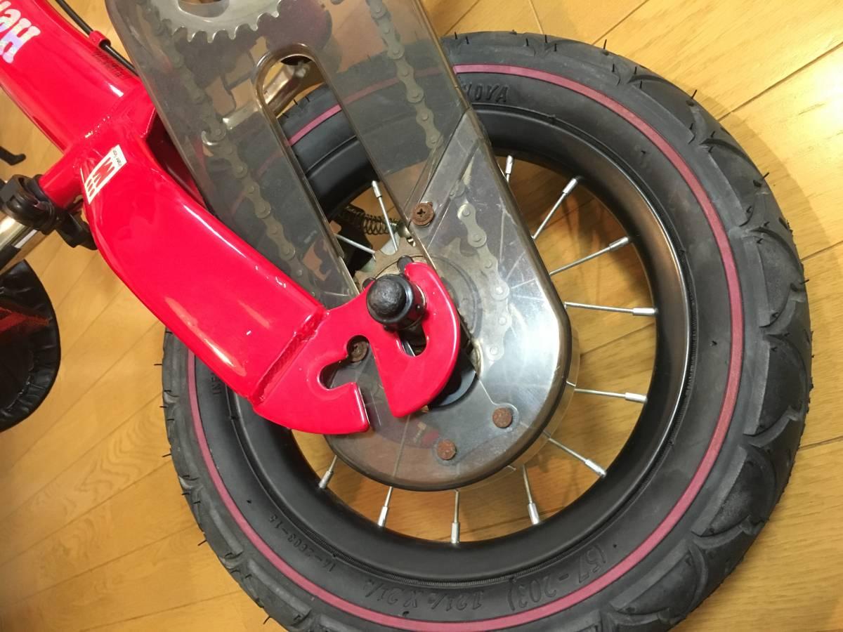 【中古 正規品】へんしんバイク 赤_画像3