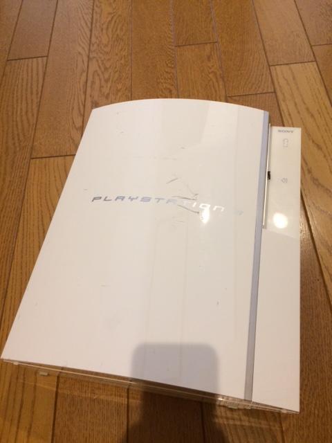 PS3 40GB CECHH00 ホワイト 動作 本体のみ