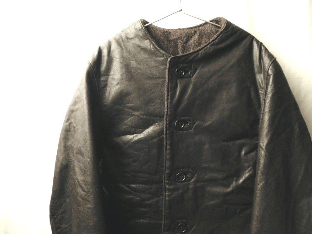 30s40s50s ビンテージ ヨーロッパ イギリス ドイツ ジャーキン レザー コート ジャケット_画像1