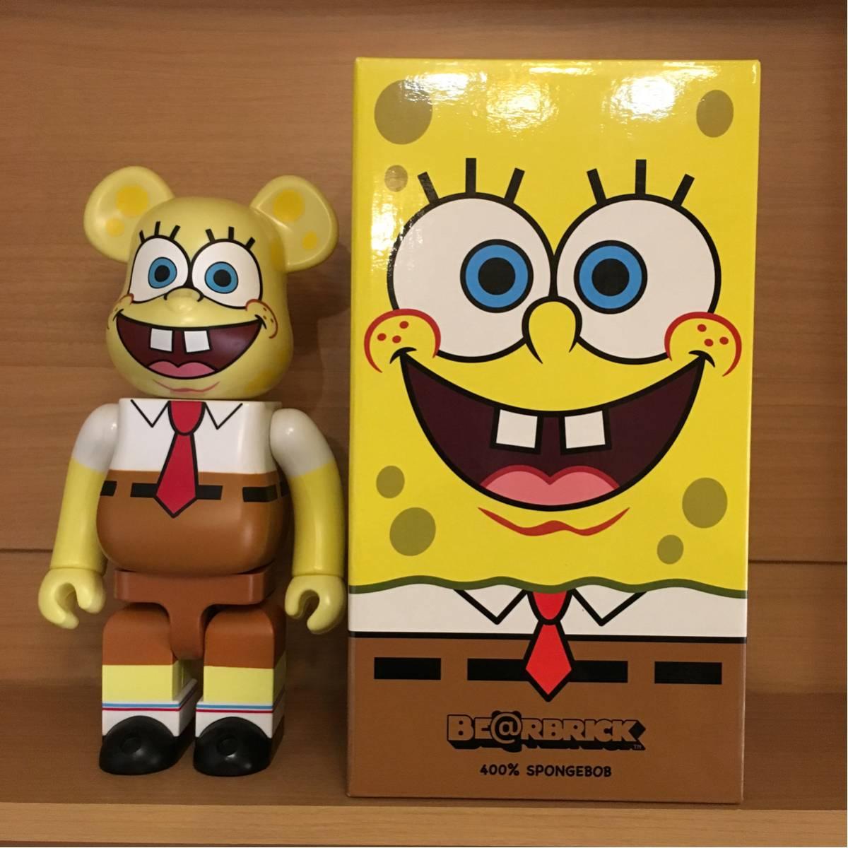 スポンジボブ ベアブリック spongebob squarepants be@rbrick ヤマシロヤ //kaws グッズの画像