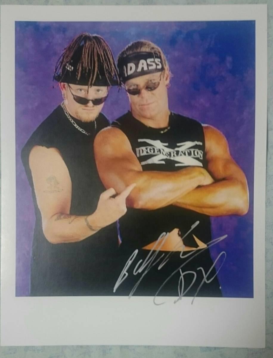 ビリーガン 直筆サインポートレート 本人より購入品 新日本プロレス WWE グッズの画像