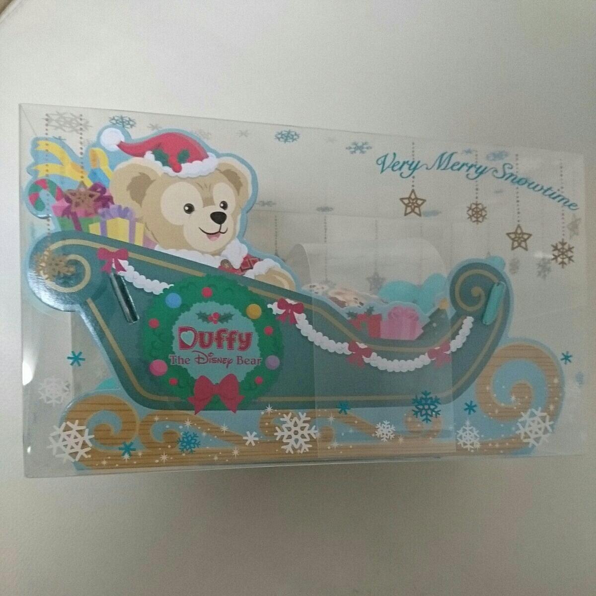 ディズニー シー クリスマス 2016 ダッフィー チョコレートのソリのみ ディズニーグッズの画像