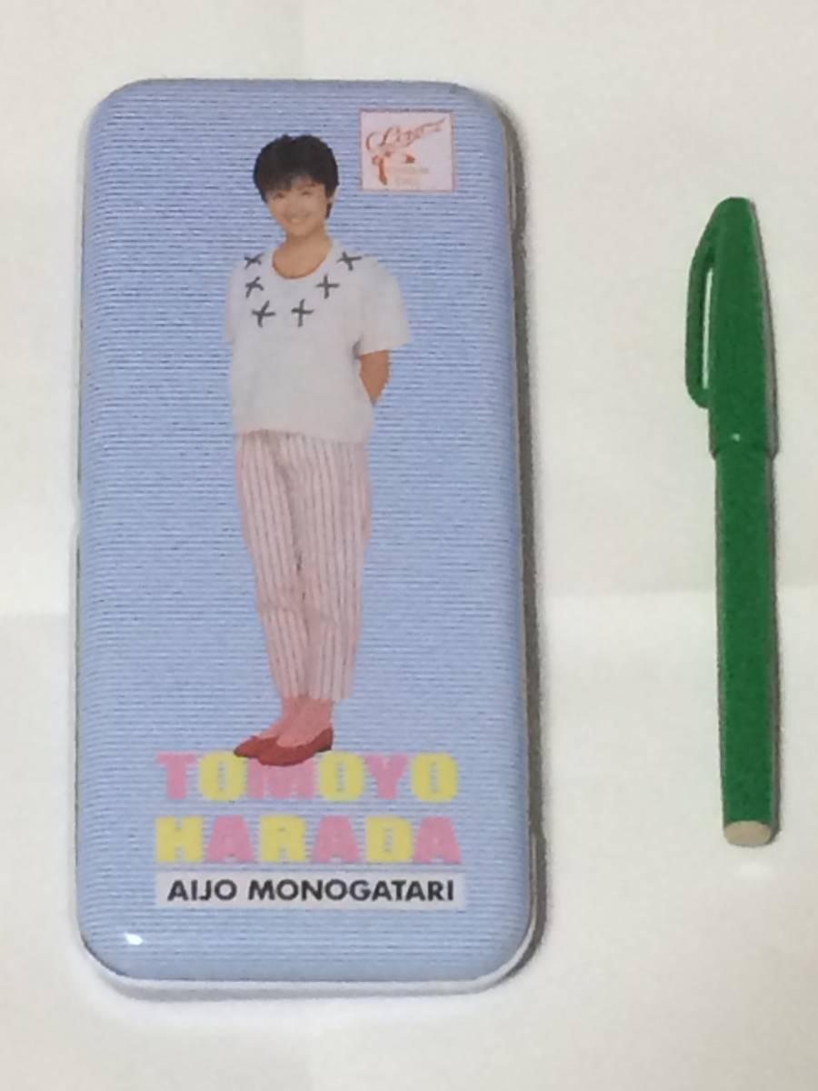 ◆ 原田知世 缶ペンケース 筆箱 美品 未使用 ◆