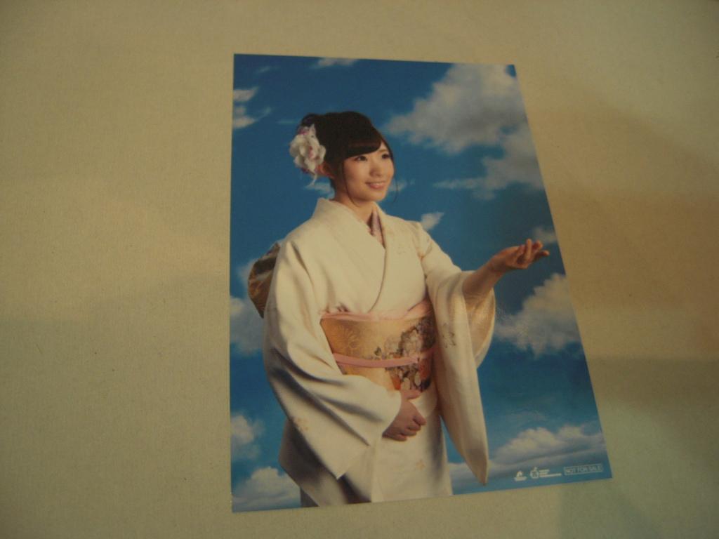 生写真: 岩佐美咲 Iwasa Misaki「もしも私が空に住んでいたら」
