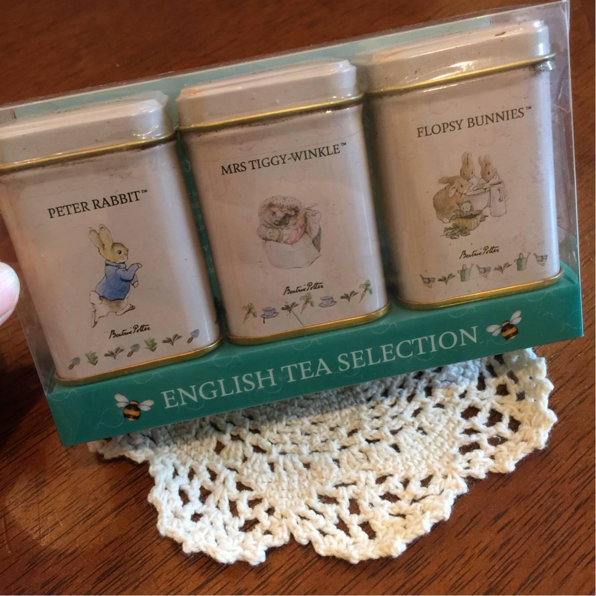 イギリスで購入 ピーターラビット 紅茶セット グッズの画像