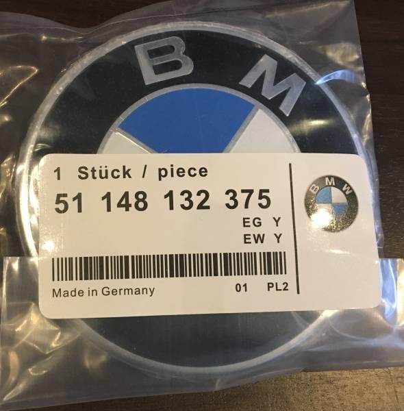 BMW ボンネット エンブレム 82mm 2ピン Z3 X3 X5 E30 E32 E34 E36 E46 E39 E38 E65 E66 E