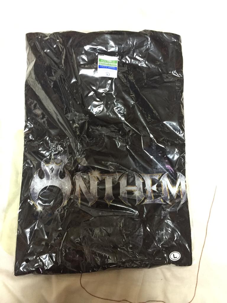 バンドTシャツ ANTHEM アンセム 未使用品 Lサイズ