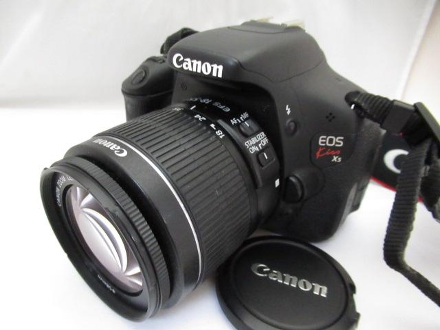 706☆キャノン/Canon EOS kiss X5 EFS 18-55mm 3.5-5.6 作動品、保証なしのジャンク扱