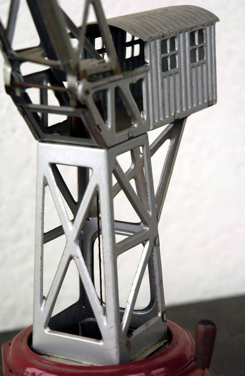 第2次大戦後 独逸製 バケットクレーン ゼンマイ動作式 C111_画像8
