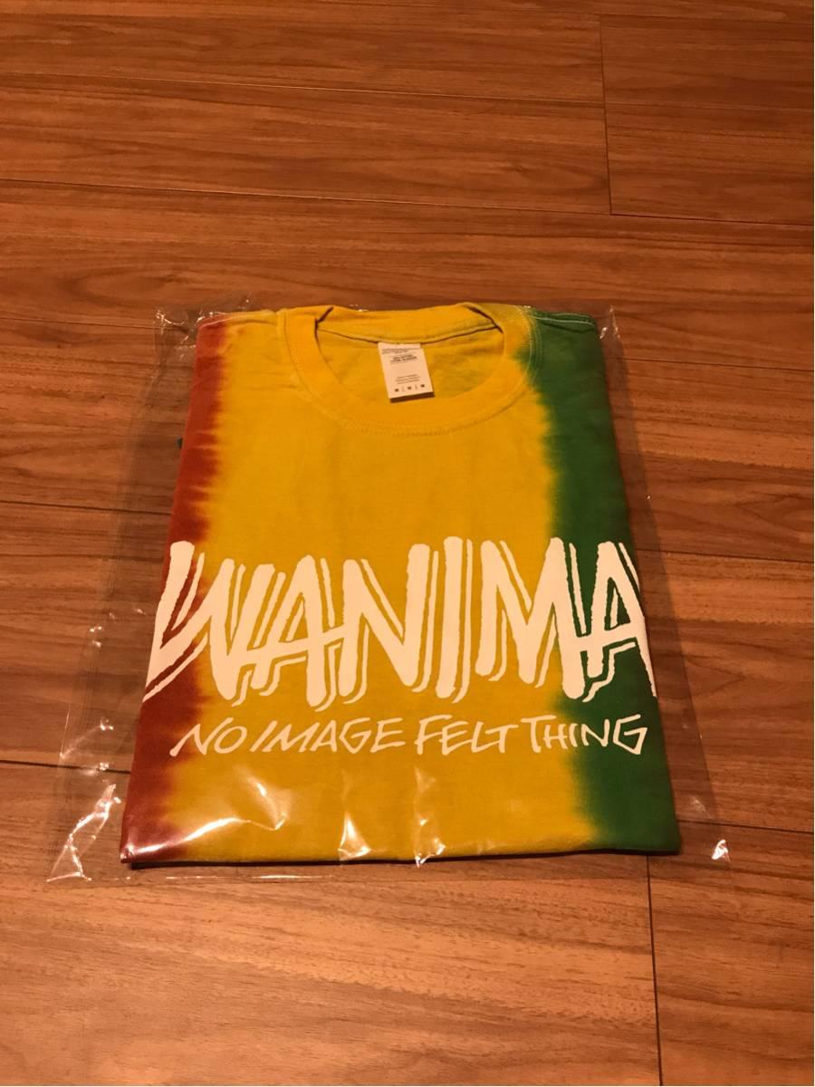 未使用WANIMA新作タイダイTシャツサイズM ライブグッズの画像