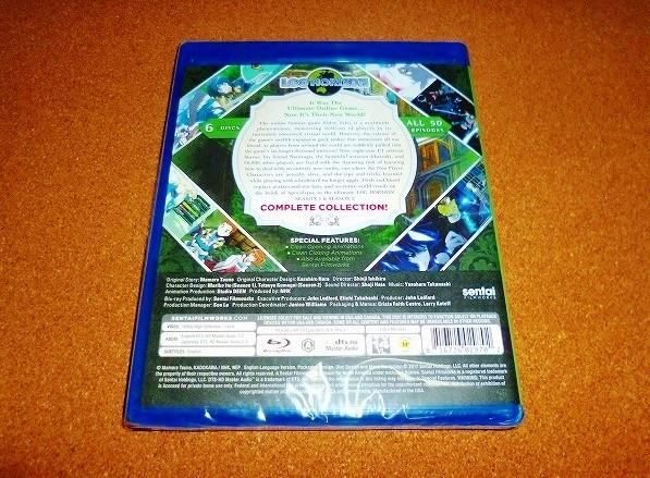 新品BD 【ログ・ホライズン】第1+2期 全50話BOX!新盤 ログホライズン 北米版ブルーレイ_画像2