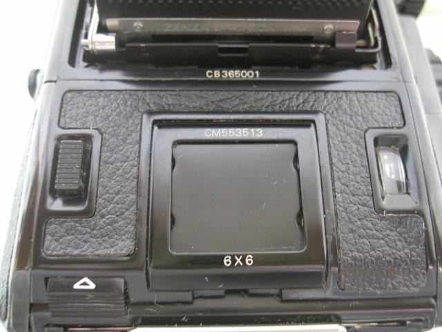 ZENZA BRONICA ブロニカ EC-TL Ⅱ 6×6版 一眼レフ ジャンク_画像5