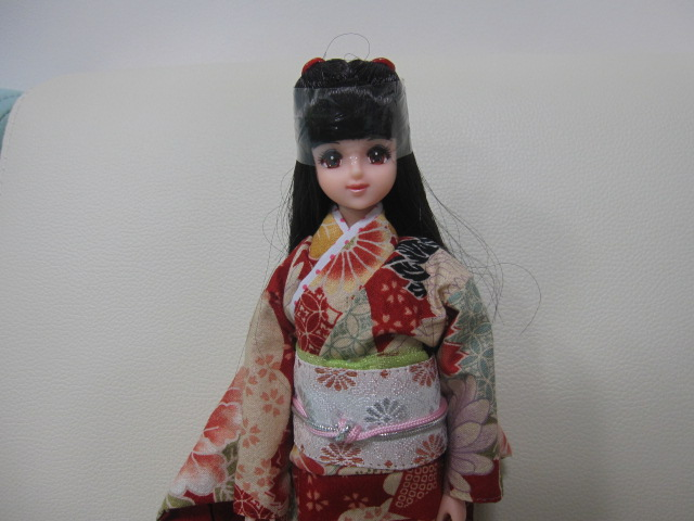 ジェニー祭 Jenny ジェニー 3体セット 和装着物 スタンド・浴衣の着替え付き_画像4