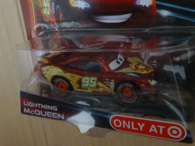 Disney PIXAR Cars NEON RACERS LIGHTNING McQUEEN ディズニー カーズ ライトニング・マックィーン ネオン レーサーズ ターゲット限定 ディズニーグッズの画像