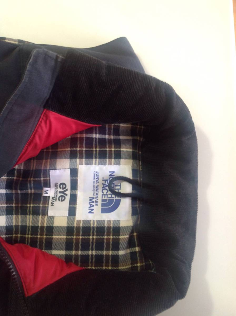 【 COMME des GARONS MAN 】eYe junya watanabe × THE NORTH FACE ダウンベスト_画像2